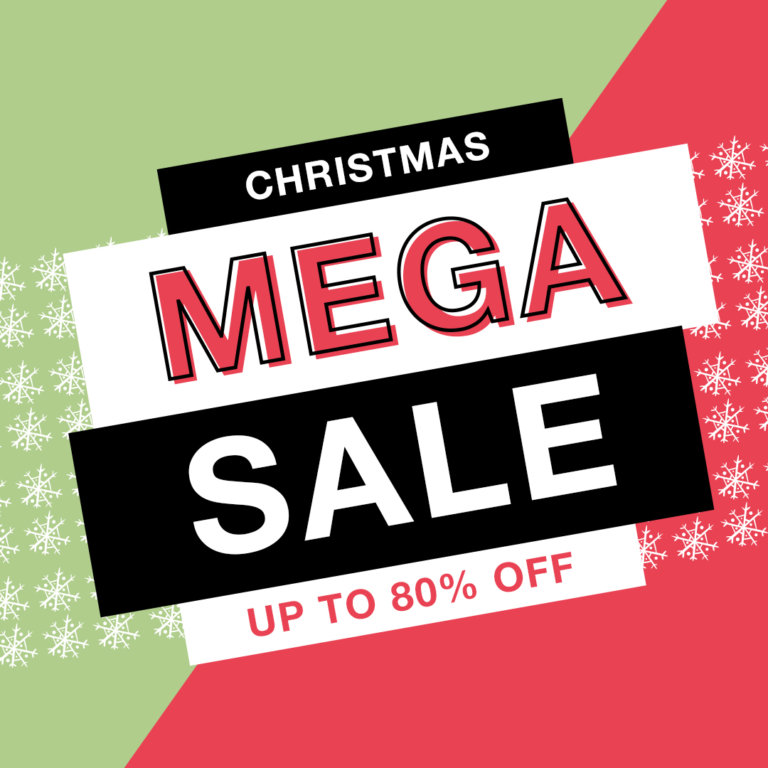 Christmas Mega Savings Sale
