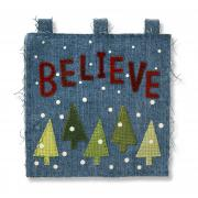 Believe Trees Wall Hanging