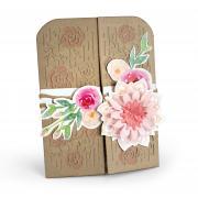 Flowers Gatefold Card