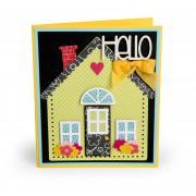 Hello House Card