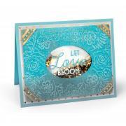 Let Love Bloom Shaker Card