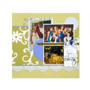 Our Family Scrapbook Page