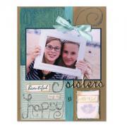 Beautiful Sister Scrapbook Page