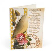 Imagination Bird on a Branch Card