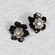 Sculpted Flower Earrings
