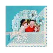 Love Scrapbook Page