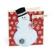 Winter Wonderland Snowman Card #2