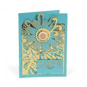 Love Flowers Card #2