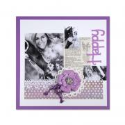 Happy Scrapbook Page #3