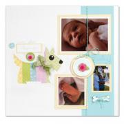 Happiness & Hugs Scotty Scrapbook Page