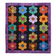 Our Flowers are in Perfect Rows Quilt