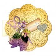 Embossed Just for You Card #4