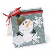 Joyful Snowman Card