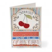 Vintage Cherries Card
