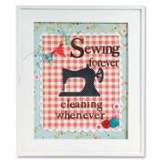 Sewing Forever Cleaning Whenever Frame