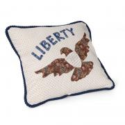 Liberty Eagle Pillow