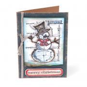 Merry Christmas Snowman Card #3