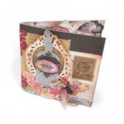 Butterflies and Bows Mini Scrapbook