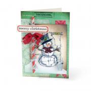 Merry Christmas Snowman Card #4
