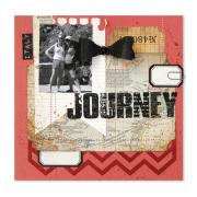 Journey Scrapbook Page