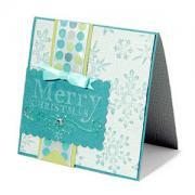 Embossed Merry Christmas Card #2