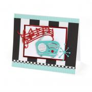 Retro Radio Card