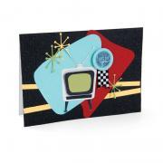 Retro TV Card