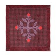 Crimson Rose Wall Hanging