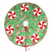 Candy Swirl Mini Christmas Tree Skirt