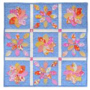 Flower Petals and Leaves Wall Hanging
