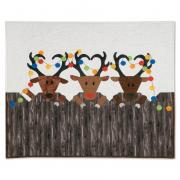 Reindeer Games Wall Hanging