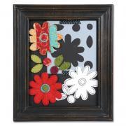 Felt & Fabric Flowers Frame