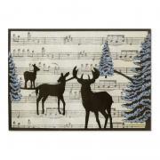Woodland Reindeer Card
