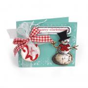Merry Christmas Snowflakes Card #2