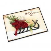 Merry Christmas Sleigh Card