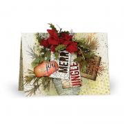 Joy. Merry. Jingle. Card