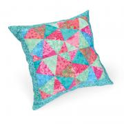 Jeweled Kaleidoscope Pillow