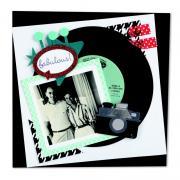 Fabulous Record Scrapbook Page