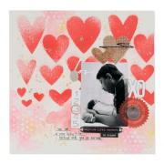 Capture Life's Moments Scrapbook Page