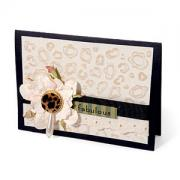 Fabulous Cheetah Print Card