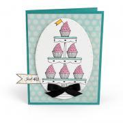 Just 4U Cupcake Card