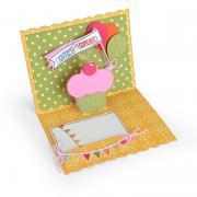 Cute as a Cupcake Pop-Up Card