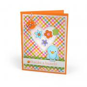 Birds & Flowers Card #2