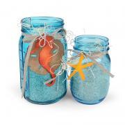 Seahorse & Seashell Jars