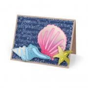 Seashells & Ocean Script Card