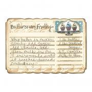 Buttercream Frosting Recipe Card
