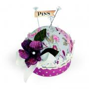 Pincushion w/Button Storage