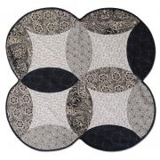 Black and White Full Melon Wall Hanging