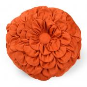 Orange Petal Pillow