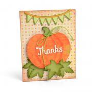 Thanks Pumpkin Card